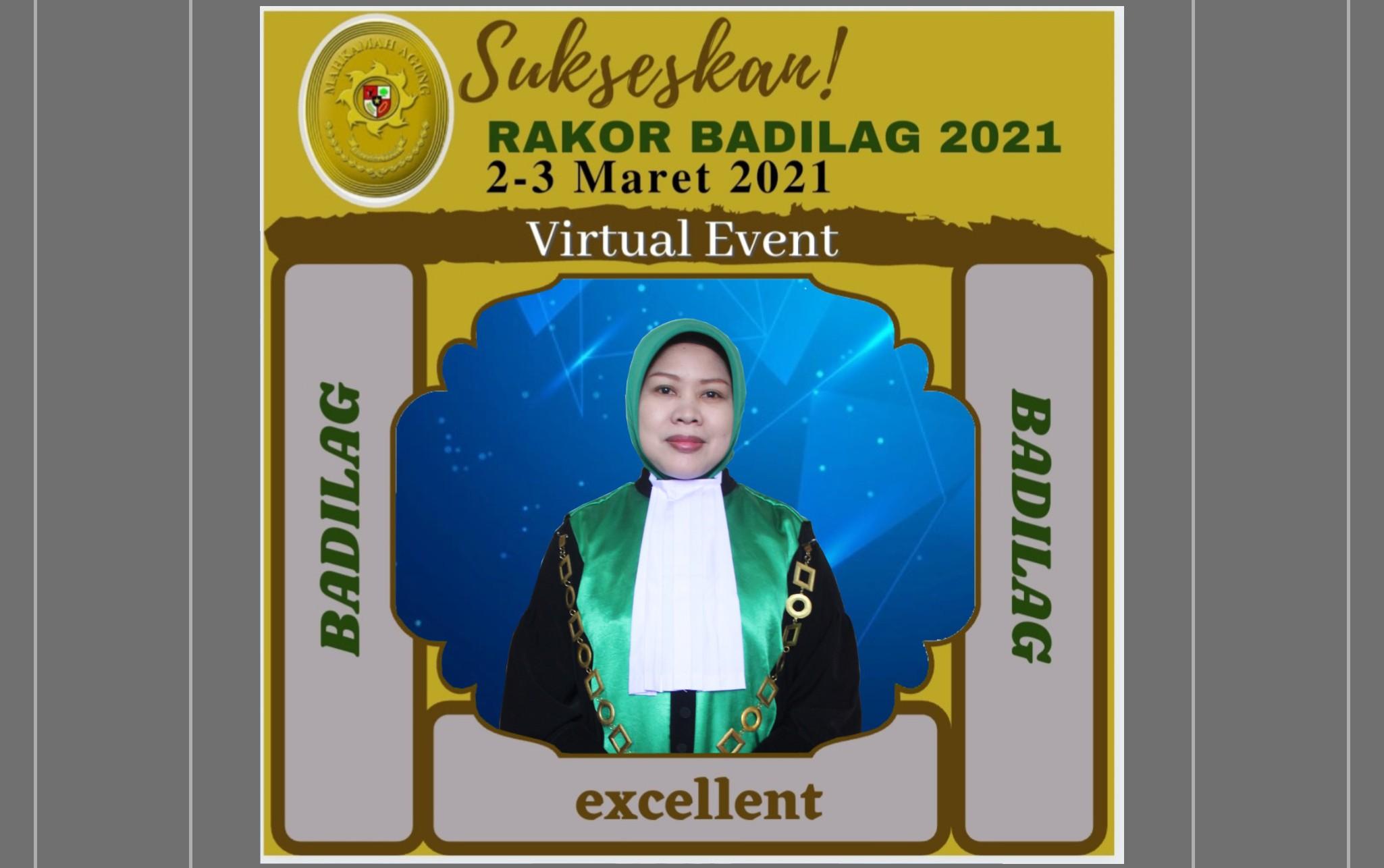 Rakor Badilag 2021