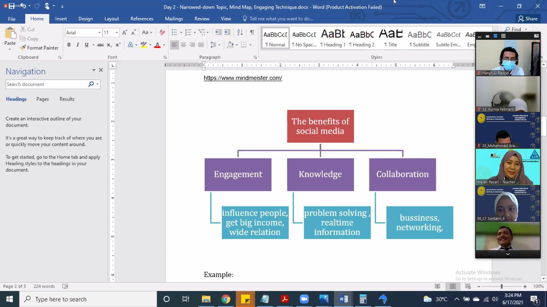 Peran Serta CPNS PA Mojokerto Dalam English Presentation ...