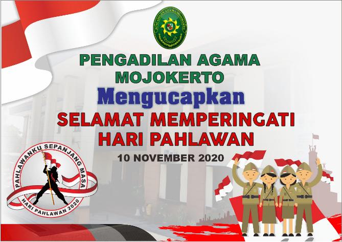 PENRINGATAN HARI PAHLAWAN 2020